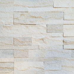 Steenstrips zelfklevend wit