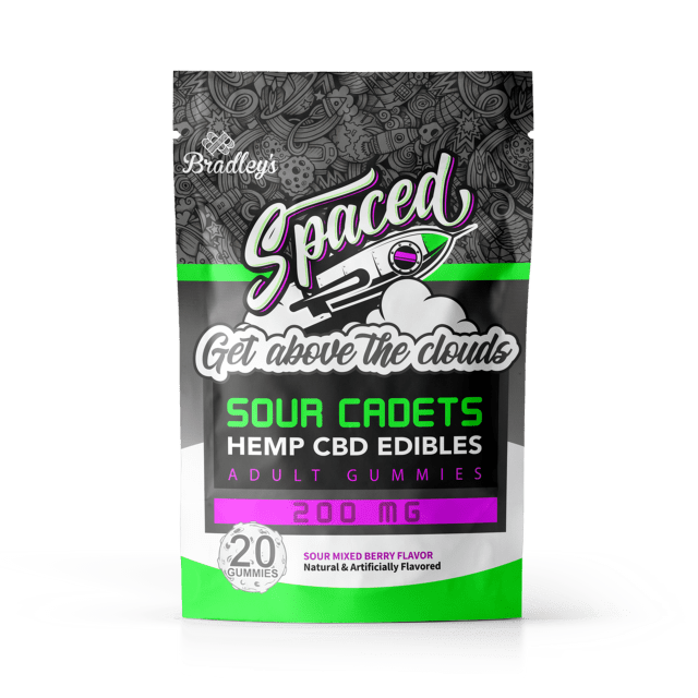 Spaced Hemp CBD Edibles – Sour Cadets