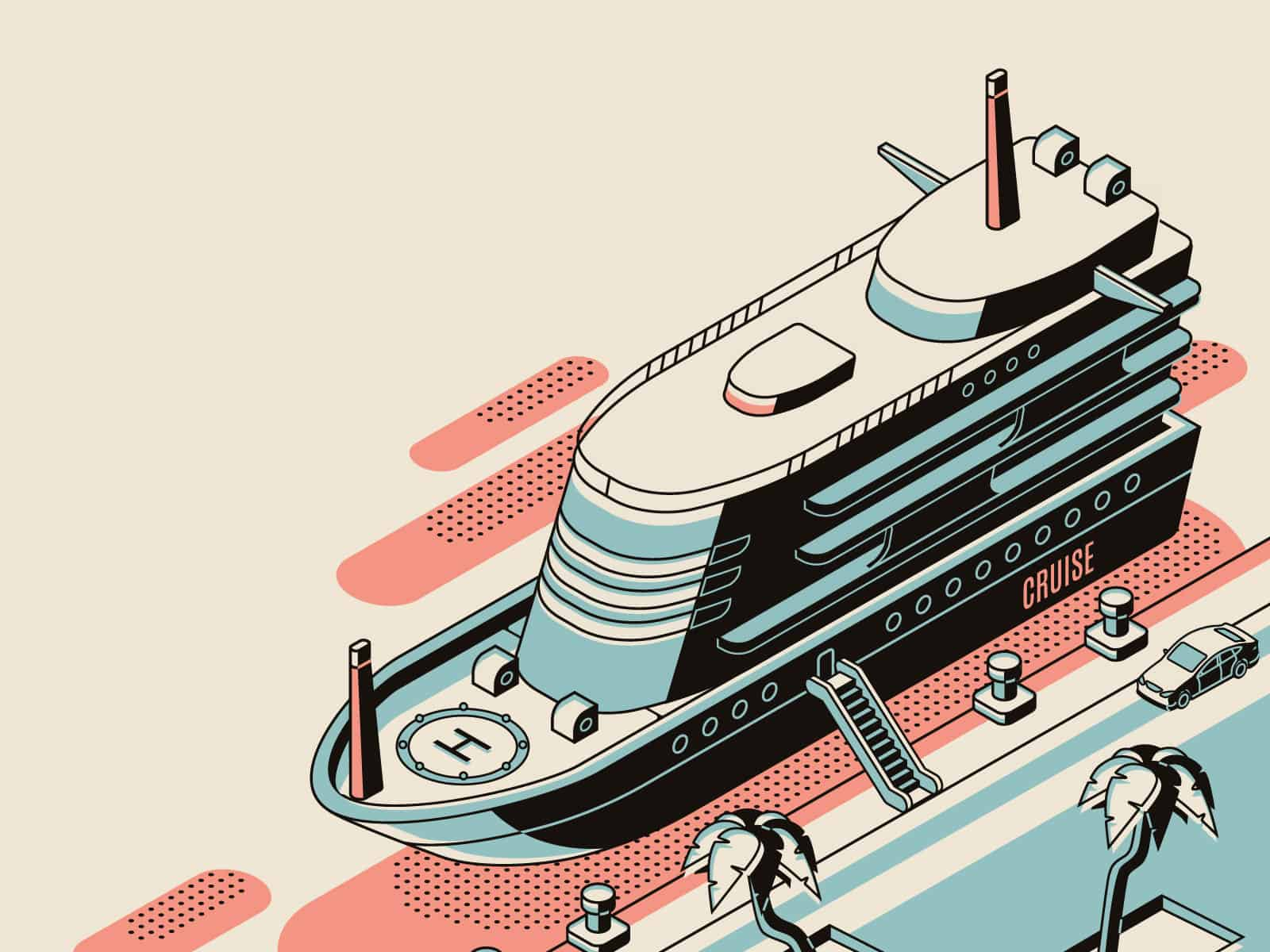 Cruise isometric design