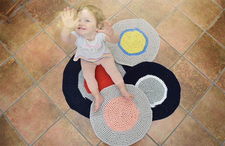 Cerchio: il tappeto circolare