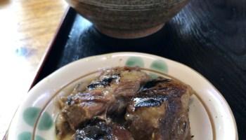 炙りソーキと沖縄そば