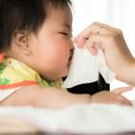 育児日記(赤ちゃんの鼻水)