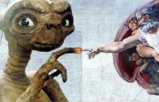 Außerirdische und Michelangelo
