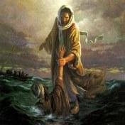 Christ soulève peter