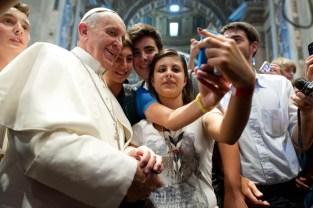 Pope phones