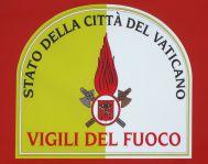 bombeiros logotipo do Vaticano