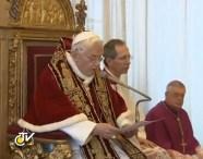 renuncia a Benedicto XVI
