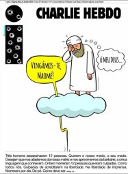 charlie-hebdo- Venimos a Muhammad jpg