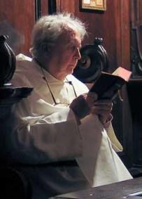 John Cavalcoli im Chor 2
