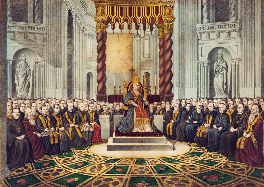Resultado de imagen de Concilio Vaticano I,