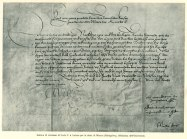 Luther summons letter of Charles V