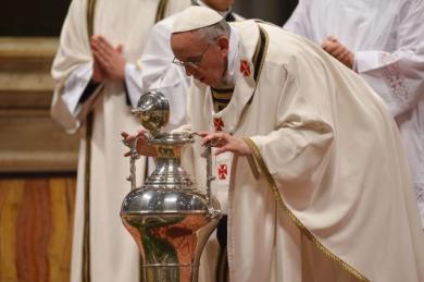 confirmación Papa