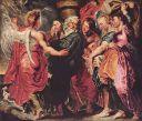 Paul Rubens 1615 Los flieht mit seiner Familie