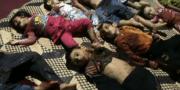 Siria mató a los niños