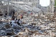 Zerstörung Szene nach dem Erdbeben in Port-au-Prince Bel Air Center Nachbarschaft - Haiti - 15/01/2010 - FOTO Jonne Roriz / AE
