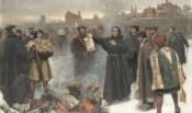 Lutero brucia bolla