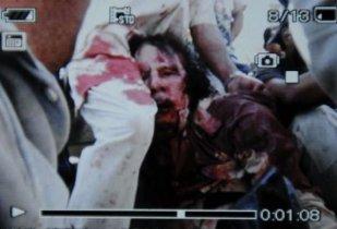 Gaddafi linchado