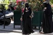 Muçulmano Burqa Belgio