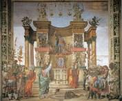 San Filippo expulsa el dragón templo de Hierápolis