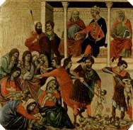 slaughter of the innocents duccio Boninsegna