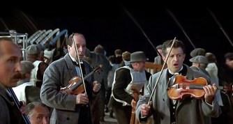 orquestra do Titanic