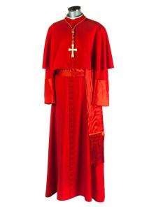 vestido de cardenal