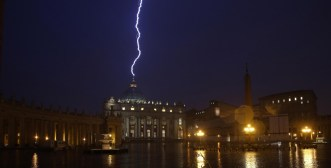 Lightning of saint peter
