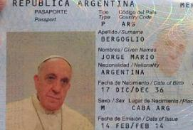 Pope passport
