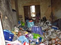 garbage at home