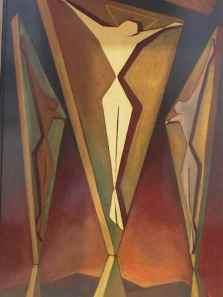 crucificação, 1954
