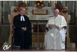Pope visits luterani