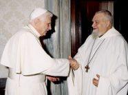 Enzo Bianchi con Benedicto XVI