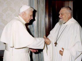 Benedict XVI cum Enzo Bianchi