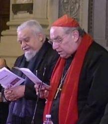 Enzo Bianchi and Paul Romeo