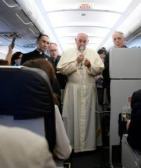 Pope return to Armenia