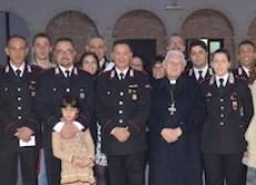 Carabinieri Archbishop pastoral visit-001