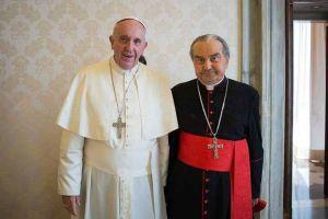 Carlo Caffara Papa Francisco