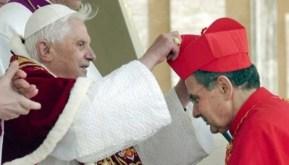 carlo Caffara con Benedicto XVI