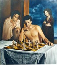 sergio-alessandro-Ughi-game-a-Schach-with-the-Dead-Kollektion-Cash-Spar-to-ferrara