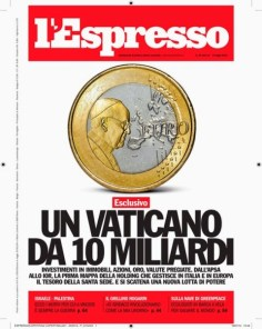 Vatican expressed by ten billion