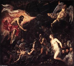 Tintoretto descida ao inferno