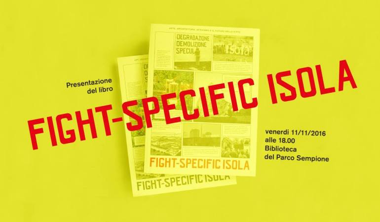 Fight-Specific Isola, flyer Daniele Rossi