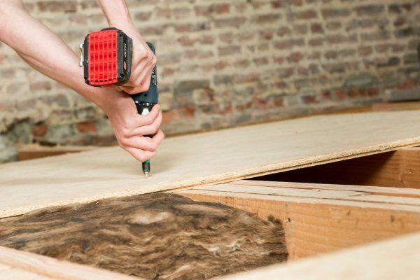 Akoestische isolatie van vloeren muren en daken