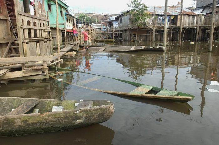 Iquitos, quartiere di Belem