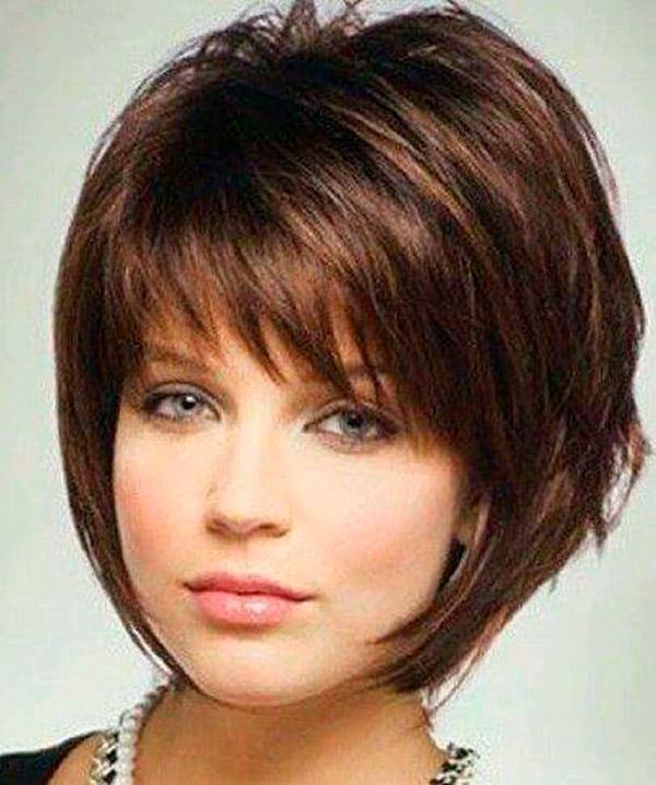 10-34 | Модные прически на короткие волосы и волосы средней длины