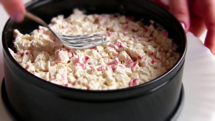 11-12   Вкусный и нежный салат «Снежная Королева»