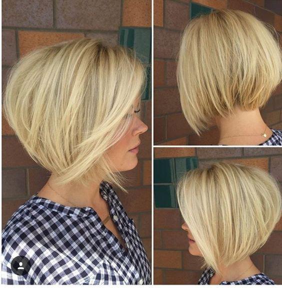 1492866118-4519-04 | Градуированные каре для коротких и средних волос: 30 вариантов