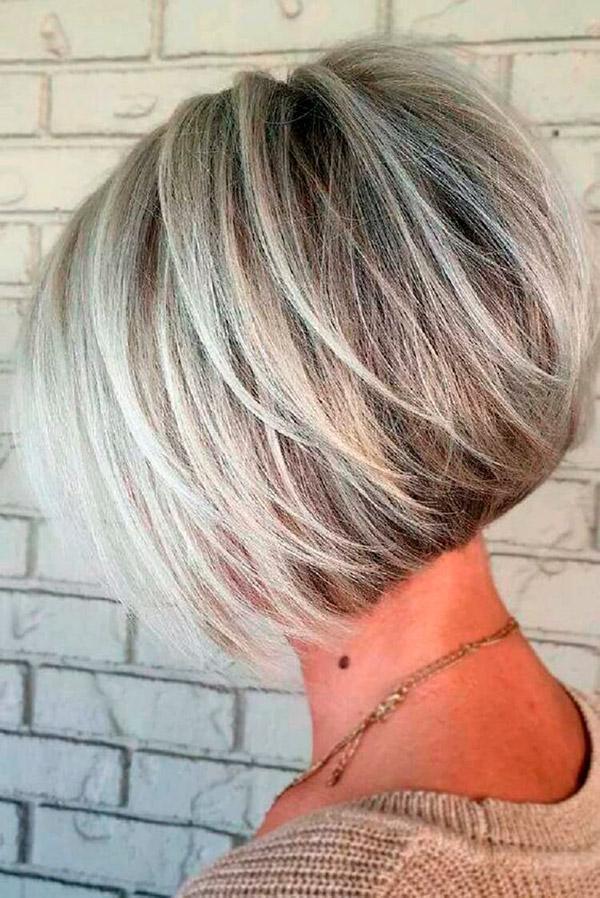 7-45 | Модные прически на короткие волосы и волосы средней длины