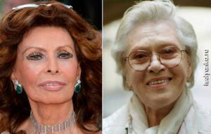Пластика или естественность: сравнение 82-летней Алисы Фрейндлих с Софи Лорен