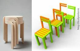 Складные стулья для вашего интерьера